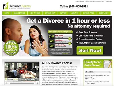 iDivorceForms Reviews